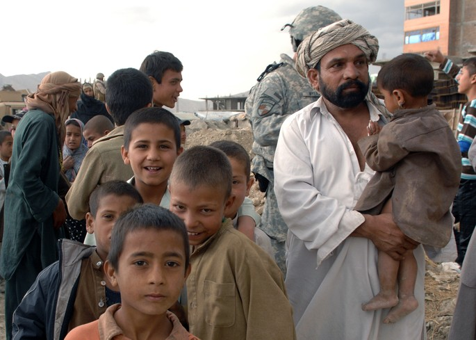 Afghanistan - poorest country in the middle east