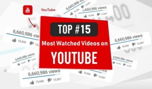 The 15 Most Watched YouTube Videos