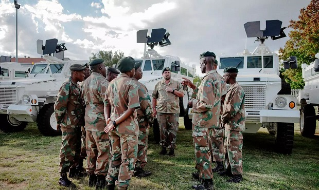 South Africa Military - best military in africa
