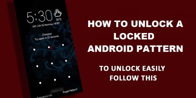 How to Unlock Locked Pattern Using Command Prompt