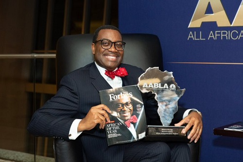 Awards - Biography of Akinwunmi Adesina