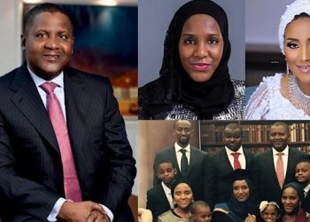 Aliko Dangote's Children Photos