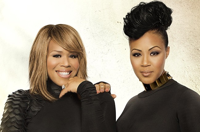 Erica and Tina Campbell - Mary Mary
