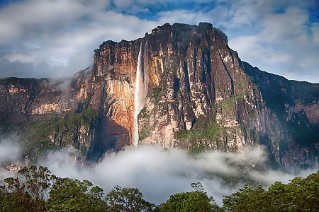 Angel Falls - The largest waterfalls in the world