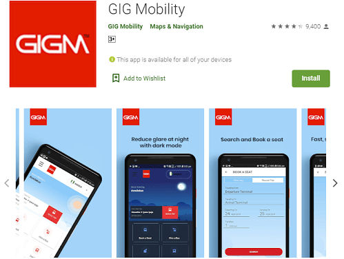 How To Use GIGM App